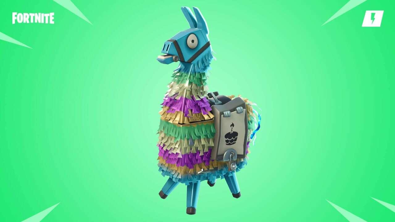 Fortnite Patch Notes V9.1 Fortnite Living Loot Llamas How To Catch New Fortnite Llamas On Digital Shop